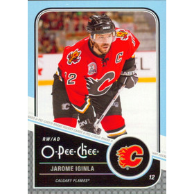 2011-12 O-PEE-CHEE - JAROME IGINLA #41 PLAYOFF BEARD VARIATIONS