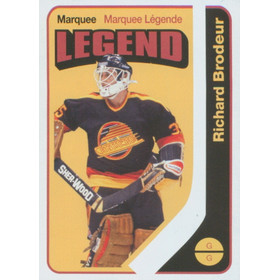 2014-15 0-PEE-CHEE - RICHARD BRODEUR #595 RETRO LEGEND