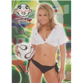 2006 Benchwarmer World Cup - Jen Sibley #21