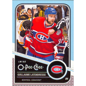 2011-12 O-PEE-CHEE - GUILLAUME LATENDRESSE #28 PLAYOFF BEARD VARIATIONS