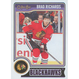 2014-15 0-PEE-CHEE - BRAD RICHARDS #U10 UPDATE