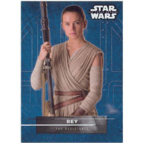 2016 Star Wars The Force Awakens - Rey Character Stickers #2
