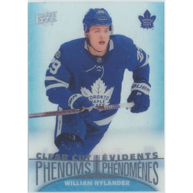 2018-19 TIM HORTONS - WILLIAM NYLANDER #CC-12 CLEAR CUT PHENOMS