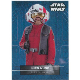 2016 Star Wars The Force Awakens - Nien Nunb Character Stickers #14
