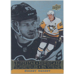 2018-19 TIM HORTONS - SIDNEY CROSBY #SS-8 SUPERSTAR SHOWCASE