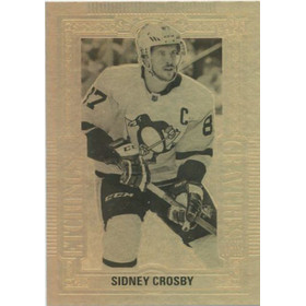 2018-19 TIM HORTONS - SIDNEY CROSBY #GE-1 GOLD ETCHINGS