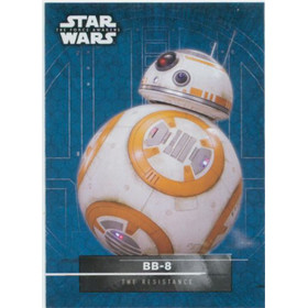 2016 Star Wars The Force Awakens - BB-8 Character Stickers #11