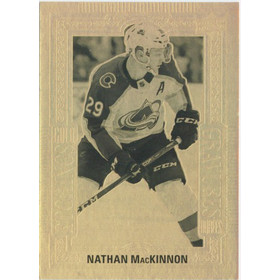 2018-19 TIM HORTONS - NATHAN MACKINNON #GE-9 GOLD ETCHINGS