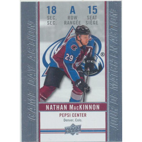 2018-19 TIM HORTONS - NATHAN MACKINNON #GDA-15 GAME DAY ACTION