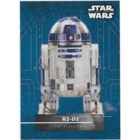 2016 Star Wars The Force Awakens - R2-D2 Character Stickers #10
