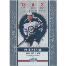 2018-19 TIM HORTONS - PATRIK LAINE #GDA-3 GAME DAY ACTION