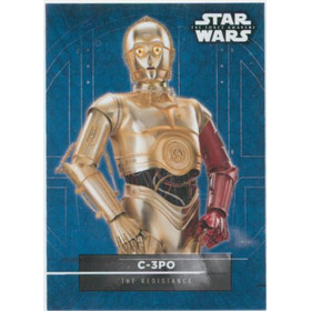 2016 Star Wars The Force Awakens - C-3PO Character Stickers #9
