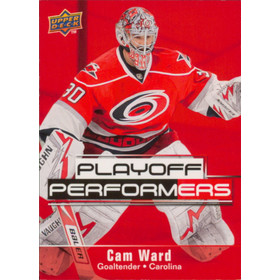 2009-10 UPPER DECK - CAM WARD #PP2 PLAYOFF PERFORMERS