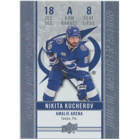 2018-19 TIM HORTONS - NIKITA KUCHEROV #GDA-8 GAME DAY ACTION