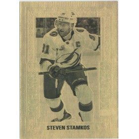 2018-19 TIM HORTONS - STEVEN STAMKOS #GE-8 GOLD ETCHINGS