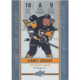 2018-19 TIM HORTONS - SIDNEY CROSBY #GDA-9 GAME DAY ACTION
