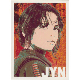 2016 Star Wars Rogue One - Jyn Erso Character Icons #CI-6