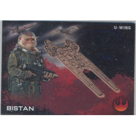 2016 Star Wars Rogue One - Bistan with U-Wing Medallions #2