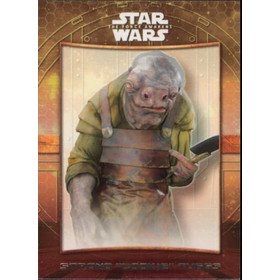 "2016 Star Wars The Force Awakens - Strono ""Cookie"" Tuggs Maz's Castle #5"