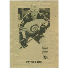 2018-19 TIM HORTONS - PATRIK LAINE #GE-4 GOLD ETCHINGS
