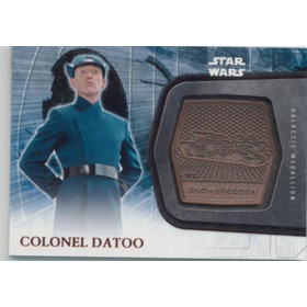 2016 Star Wars The Force Awakens - Colonel Datoo Medallions #22