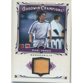 2013 Goodwin Champions - Cobi Jones Memorabilia #M-CJ