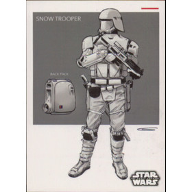 2016 Star Wars The Force Awakens - First Order Snowtrooper Concept Art #7