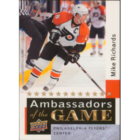 2009-10 UPPER DECK - MIKE RICHARDS #AG58 AMBASSADORS OF THE GAME