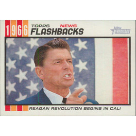 2015 Topps Heritage - Ronald Reagan News Flashbacks #NF-8