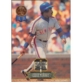 1993 Leaf - Eddie Murray Heading for the Hall #4