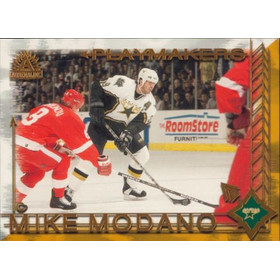 2001-02 ADRENALINE - MIKE MODANO #3 PLAYMAKERS