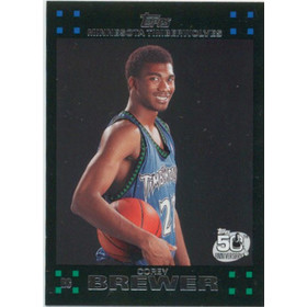 2007-08 Topps - Corey Brewer RC #117