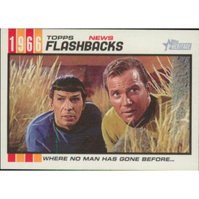 2015 Topps Heritage - Star Trek News Flashbacks #NF-3