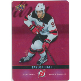 2019-20 TIM HORTONS - TAYLOR HALL #DC-18 RED DIE CUTS