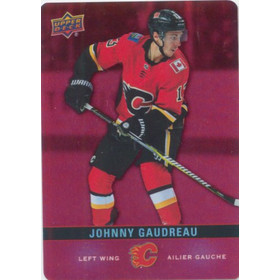 2019-20 TIM HORTONS - JOHNNY GAUDREAU #DC-5 RED DIE CUTS
