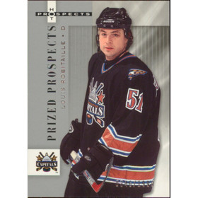 2005-06 HOT PROSPECTS - LOUIS ROBITAILLE #186 PRIZED PROSPECTS 346/1999