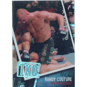 2009 UFC - Randy Couture Photo Finish #PF-21