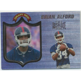 1998 Absolute Hobby - Brian Alford RC #86
