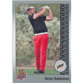 2014 Upper Deck 25th Anniversary - Victor Dubuisson Silver #142 118/250