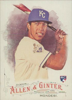 2016 Allen & Ginter - Raul Mondesi SP RC #327