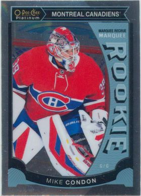 2015-16 OPC PLATINUM - MIKE CONDON #M32 MARQUEE ROOKIE