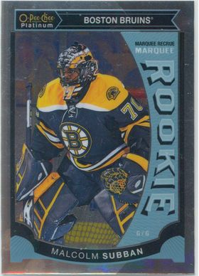 2015-16 OPC PLATINUM - MALCOLM SUBBAN #M5 MARQUEE ROOKIE