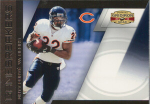 2010 Gridiron Gear - Matt Forte Gamebreakers #17