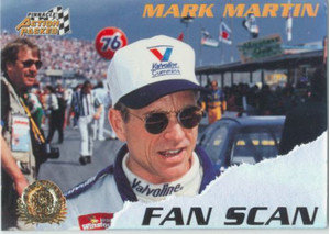 1996 Action Packed Credentials - Mark Martin Fan Scan #3