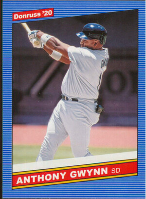 2020 Donruss - Anthony Gwynn Retro 1986 #218