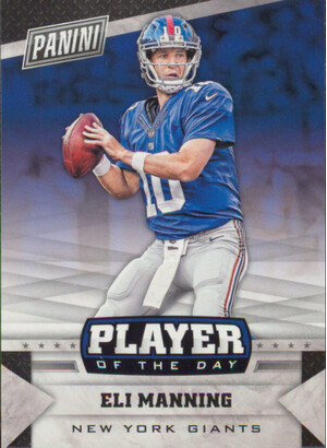 2016 Player of the Day - Eli Manning #14