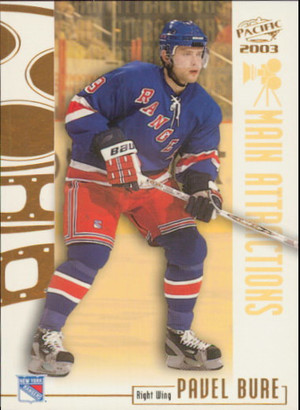 2002-03 PACIFIC - PAVEL BURE #13 MAIN ATTRACTIONS