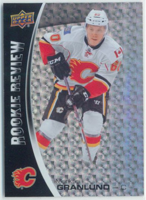 2014-15 OVERTIME - MARKUS GRANLUND #RRC-23 ROOKIE REVIEW