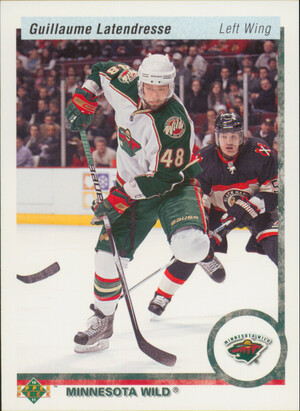 2010-11 UPPER DECK - GUILLAUME LATENDRESSE #103 20TH ANNIVERSARY