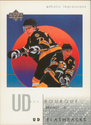 2002-03 ARTISTIC IMPRESSIONS - RAY BOURQUE #UD7 FLASHBACKS